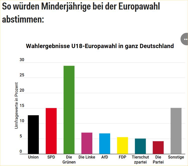 U19 Wahlen 2019 zur Europawah