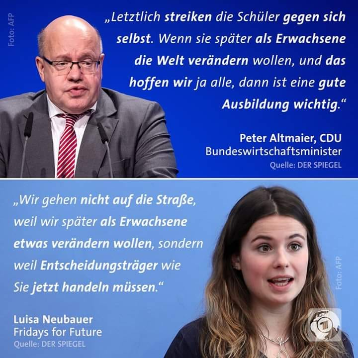 CDU gegen Fridays for Future (Altmaier)