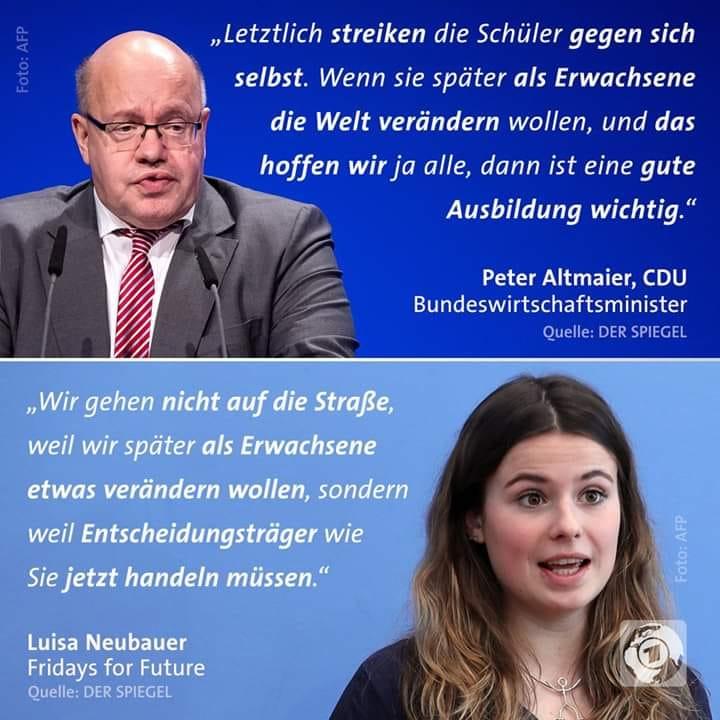 CDU gegen Fridays for Future (Altmaier)