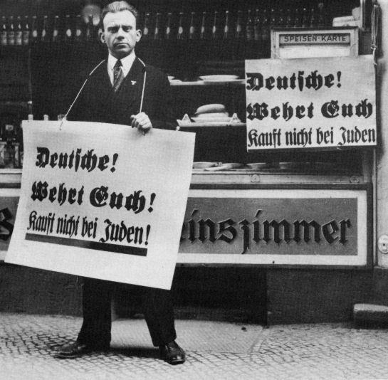 Hetze der Nazis gegen Juden -  auch in Darmstadt