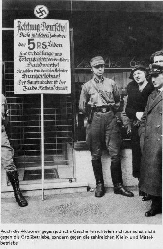 Nazi Hetze gegen Juden .- auch in Darmstadt