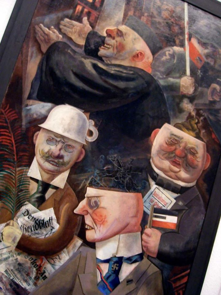 George Grosz -Stützen der Gesellschaft