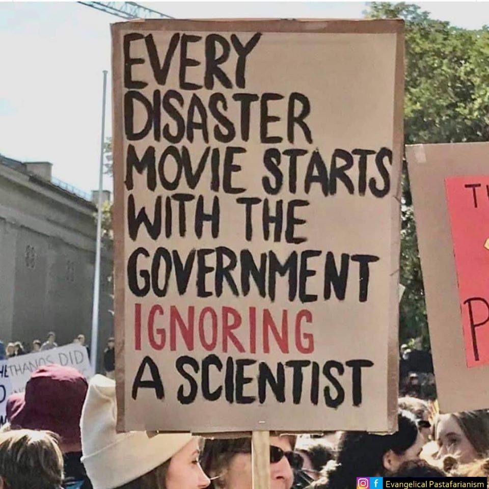 Jeder Katastrophenfilm beginnt mit Politikern, die Erkenntnisse von Wissenschaftlern ignorieren
