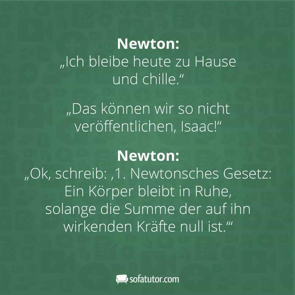 1. Newtonsches Gesetz