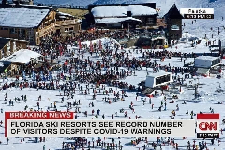 Florida Ski Ressort Fake