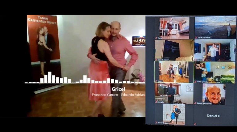 Virtuelle Milonga mit Zoom