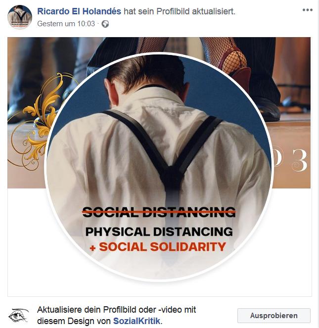 Physical Distancing + Social solidarity