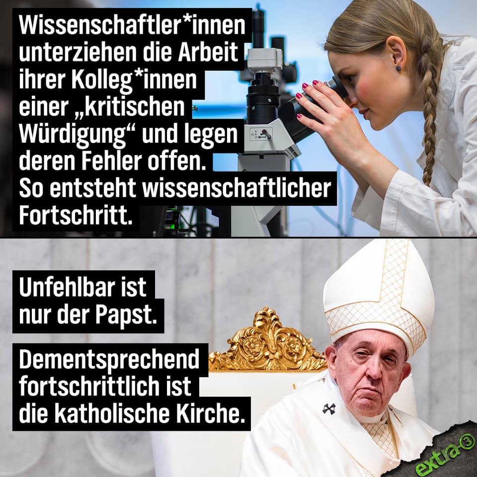 Wissenschaft vs. Glauben