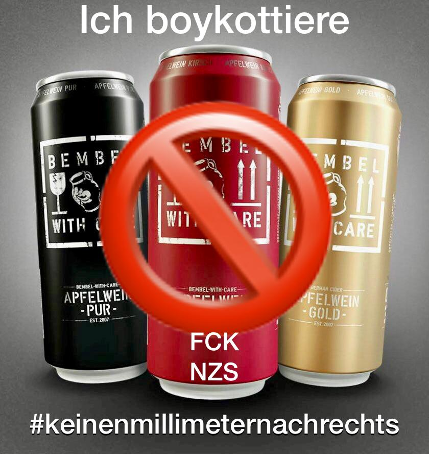 "Boykott ""Bembel with Care"""