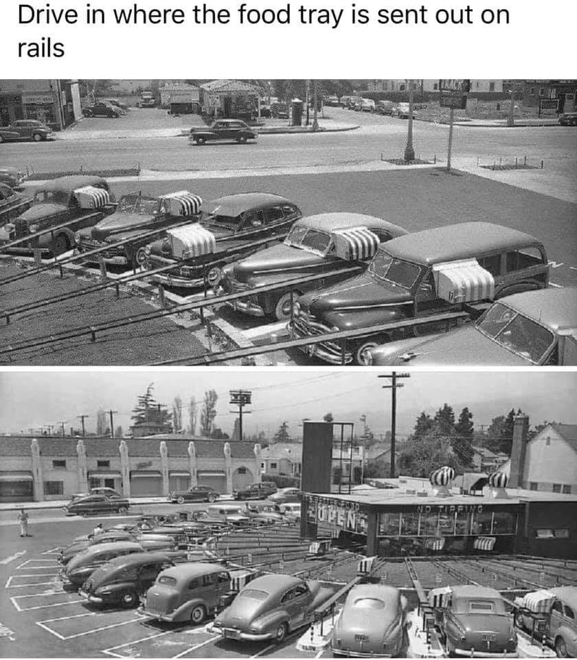 Distancin Drive in from the 50s