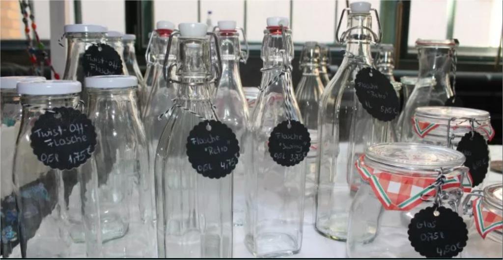 Darmstadt Unverpackt: Schönes Glas