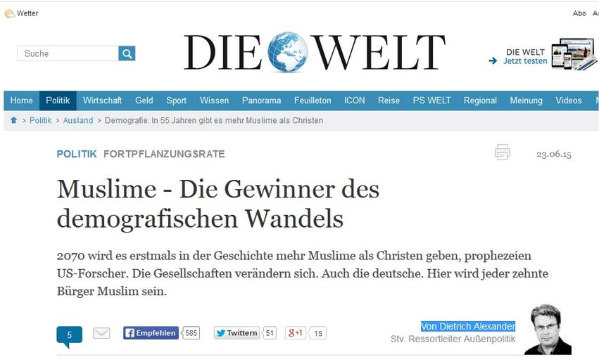 Dietrich Alexander (stv. Ressortleiter Außenpolitik Die Welt)