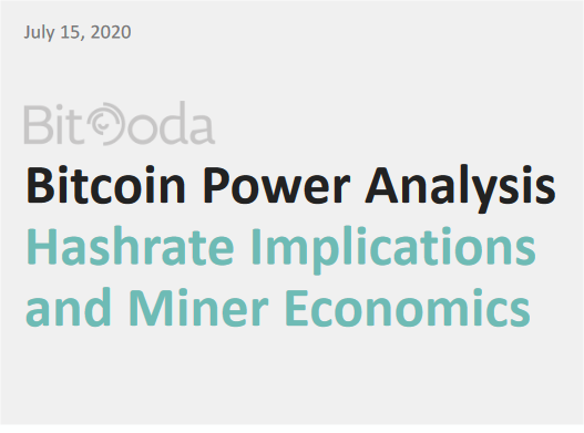 Bitcoin Power Analysis - Hashrate Implications and Miner Economics