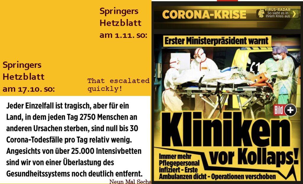 Springers Hetzblatt Bild