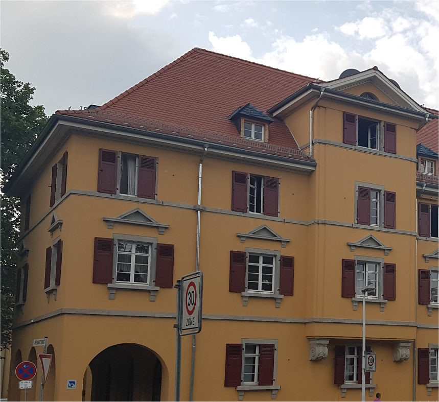 Bauverein Häuser am Röhnring, Darmstadt