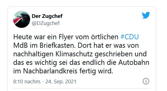 CDU und Klimawandel
